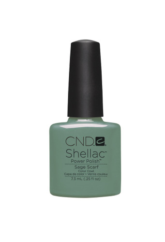 CND SHELLAC UV Color Coat - #90545 Sage Scarf .25 oz