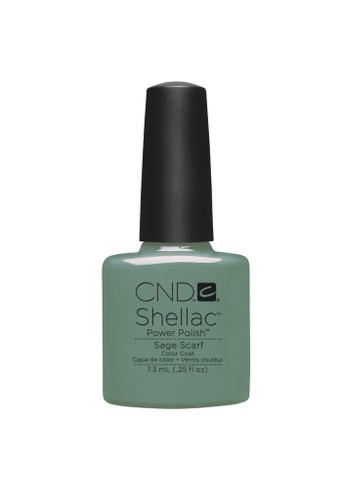 CND SHELLAC UV Color Coat - #90545 Sage Scarf .25 oz