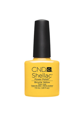 CND SHELLAC UV Color Coat - #90513 Bicycle Yellow .25 oz