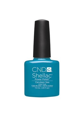 CND SHELLAC UV Color Coat - #90518 Cerulean Sea .25 oz