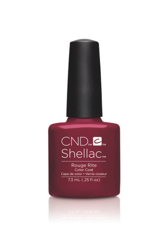 CND SHELLAC UV Color Coat - #90869 (#91970) Rouge Rite - Contradictions Collection .25 oz