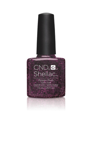 CND SHELLAC UV Color Coat - #90859 Poison Plum - Contradictions Collection .25 oz