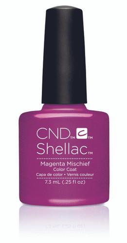 CND SHELLAC UV Color Coat - #91169 Magenta Mischief - Art Vandal Collection .25 oz