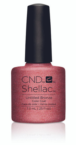 CND SHELLAC UV Color Coat - #91166 Untitled Bronze - Art Vandal Collection .25 oz