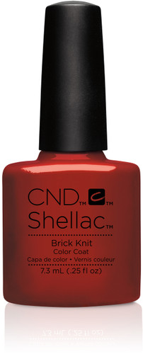 CND SHELLAC UV Color Coat - #91251 Brick Knit - Craft Culture Collection .25 oz