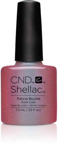 CND SHELLAC UV Color Coat - #91255 Patina Buckle - Craft Culture Collection .25 oz