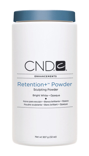 CND Retention+ Sculpting Powder - Bright White Opaque 32 oz