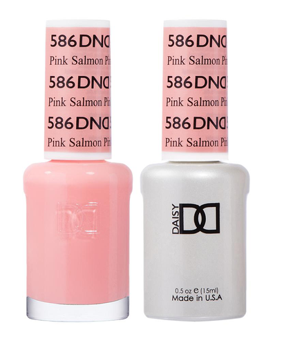 DND Duo Gel - G586 PINK SALMON - Diva Collection
