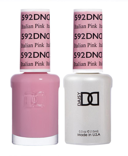 DND Duo Gel - #592 ITALIAN PINK - Diva Collection