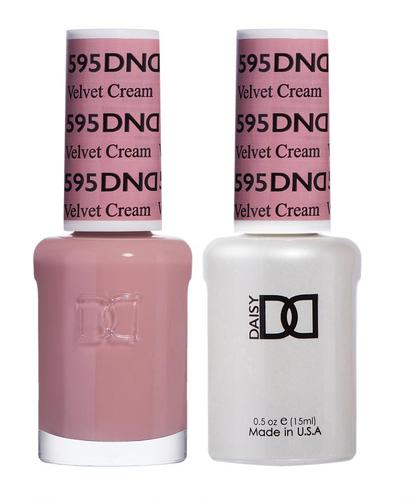 DND Duo Gel - G595 VELVET CREAM - Diva Collection