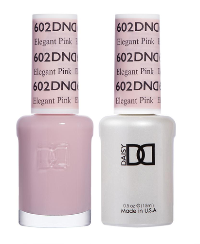 DND Duo Gel - #602 ELEGANT PINK - Diva Collection