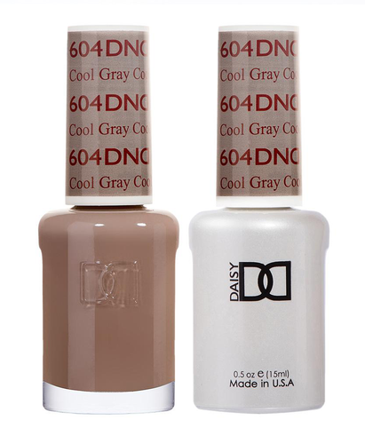 DND Duo Gel - G604 COOL GRAY - Diva Collection