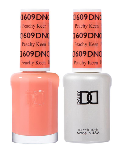 DND Duo Gel - #609 PEACHY KEEN - Diva Collection