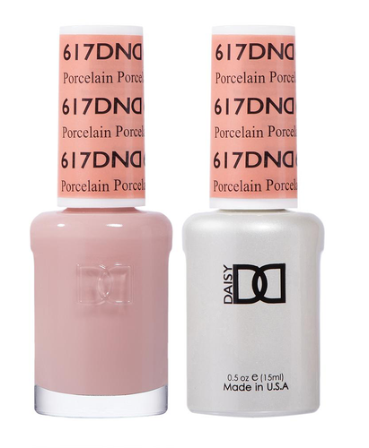 DND Duo Gel - #617 PORCELAIN - Diva Collection