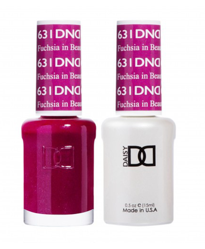 DND Duo Gel - G631 FUCHSIA IN BEAUTY