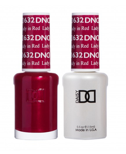 DND Duo Gel - #632 LADY IN RED
