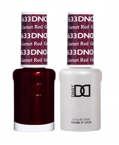 DND Duo Gel - G633 GARNET RED