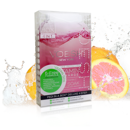 Voesh - Pedi in a Box - 4 Step Deluxe - Vitamin Recharge (VPC208PGF)