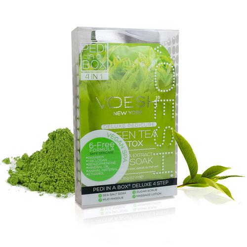 Voesh - Pedi in a Box - 4 Step Deluxe - Green Tea (VPC208GRT)