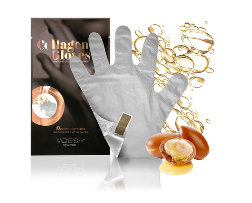 Voesh - Collagen Gloves with Argan Oil + Aloe Extract (VHM212COL)