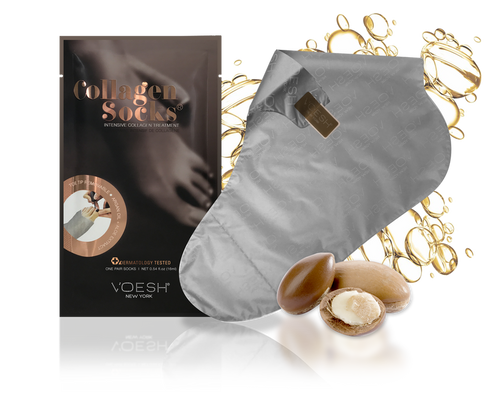 Voesh - Collagen Socks with Argan Oil + Aloe Extract (VFM212COL)