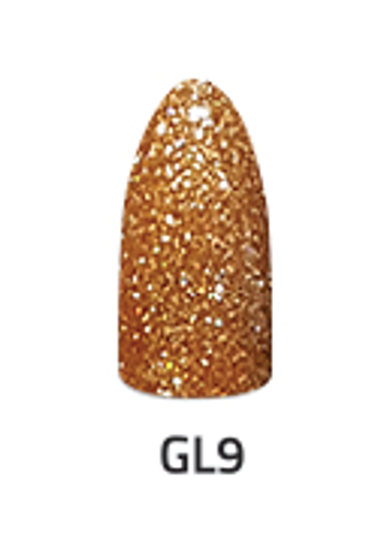 Chisel 2in1 Acrylic & Dipping 2 oz - GL 9 - Glitter Collection