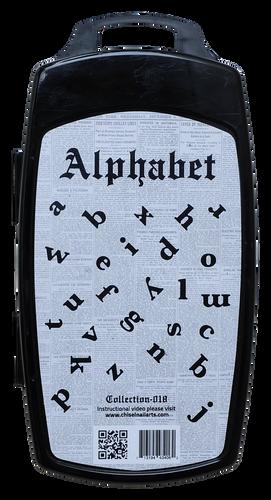 50% Off Chisel 3D Stamp - #018 Alphabet