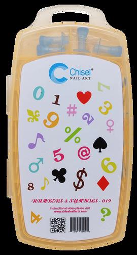 50% Off Chisel 3D Stamp - #019 Number