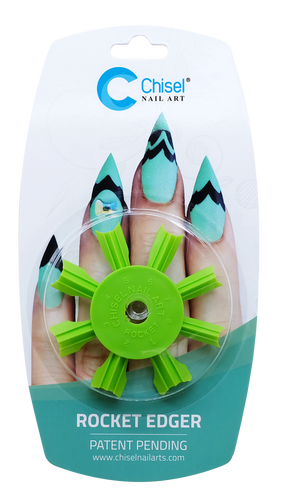 50% Off Chisel Nail Art - Rocket Edger Green - 9E