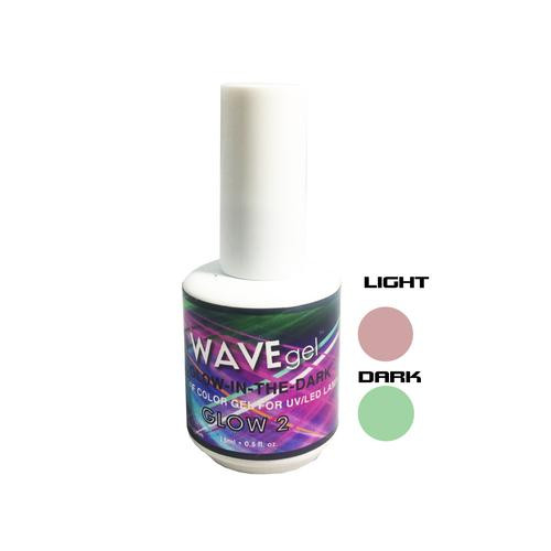 WaveGel Glow in the Dark -  GLOW 2  .5 oz