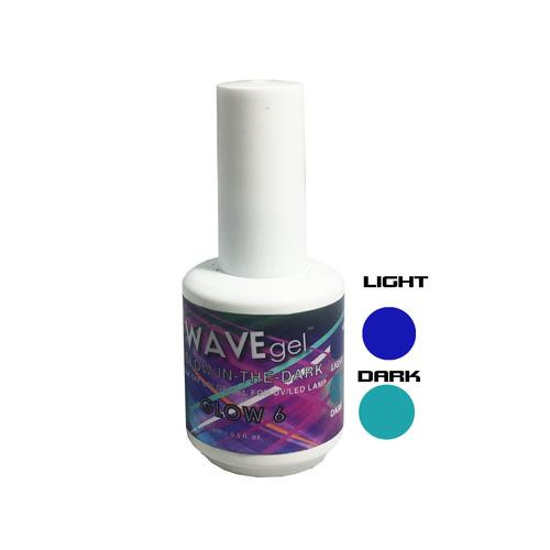 WaveGel Glow in the Dark -  GLOW 6  .5 oz