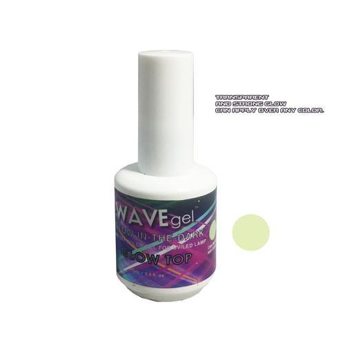 WaveGel Glow in the Dark -  GLOW TOP COLOR GEL .5 oz