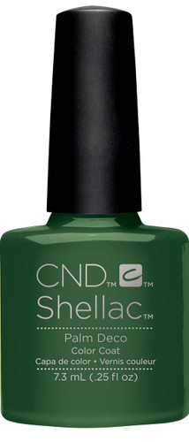 CND SHELLAC UV Color Coat - #91585 PALM DECO - Rhythm & Heat Collection .25 oz