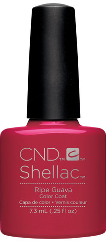 CND SHELLAC UV Color Coat - #91587 RIPE GUAVA - Rhythm & Heat Collection .25 oz