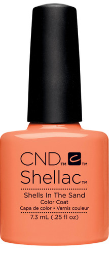CND SHELLAC UV Color Coat - #91588 SHELLS IN THE SAND - Rhythm & Heat Collection .25 oz