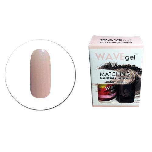 WaveGel Matching S/O Gel & Nail Lacquer - W169 CANDY CRUSH .5 oz