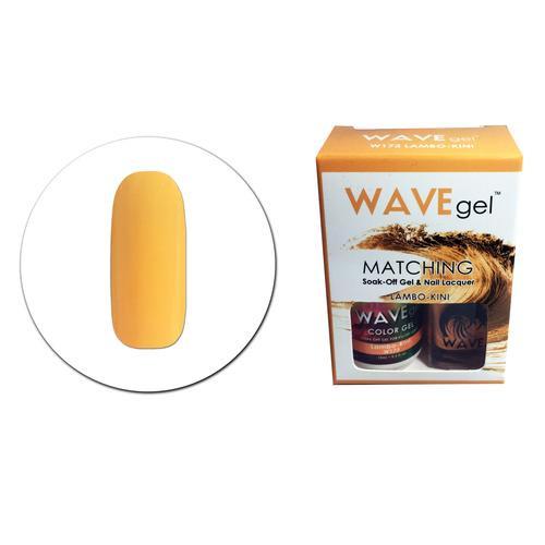 WaveGel Matching S/O Gel & Nail Lacquer - W173 LAMBO-KINI .5 oz