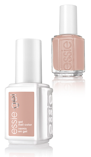 Essie Gel + Lacquer - #1123G #1123 Bare With Me - Wild Nudes 2017 Collection