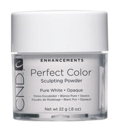 CND Powder, Pure White Opaque 0.8oz