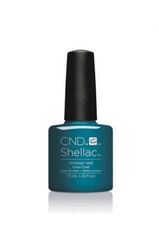 CND SHELLAC UV Color Coat - #91594 VIRIDIAN VEIL - Nightspell Collection .25 oz