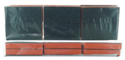 Slim Buffer - Orange/Black - 80/100 Grit (Pack/20 pcs)
