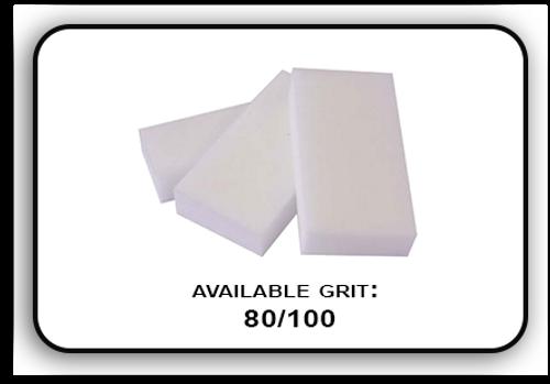 Slim Buffer - White/White - 100/120 Grit (Pack/20 pcs)