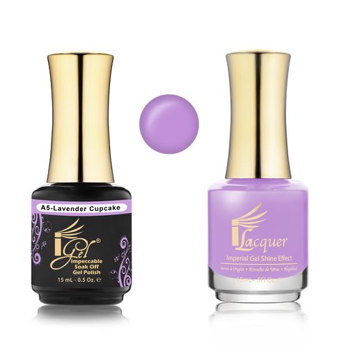iGel Match - A Collection - #A05 LAVENDER CUPCAKE
