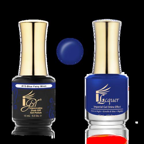 iGel Match - A Collection - #A13 BLUE FAIRY WREN