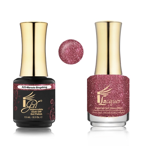 iGel Match - A Collection - #A23 MARSALA BINGABING