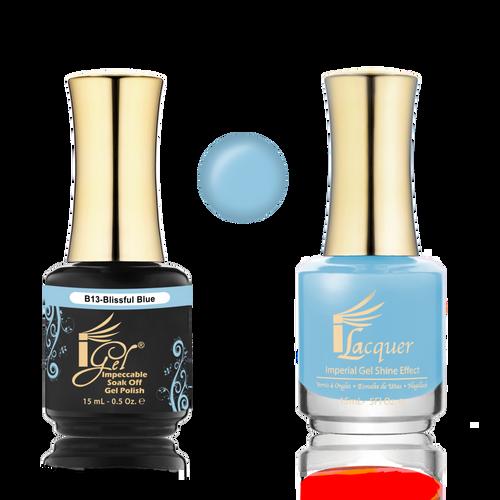 iGel Match - B Collection - #B13 BLISSFUL BLUE