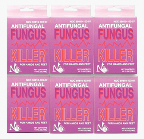 Antifungal Fungus Killer Pack/ 6pc  x 0.25 oz