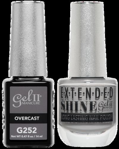 Gel II + Matching Extended Shine Polish - G252 & ES252 - OVERCAST