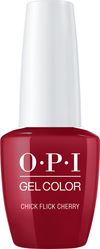OPI GelColor - #GCH02A - CHICK FLICK CHERRY .5oz