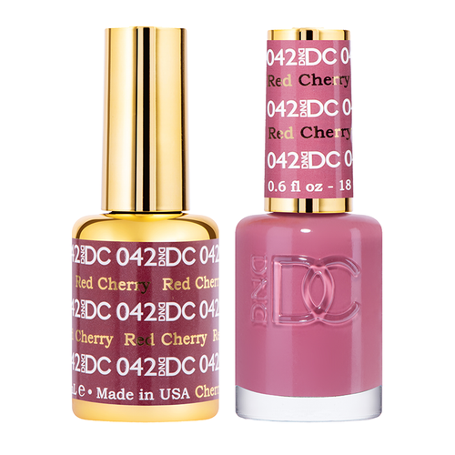 DND DC Duo Gel - #042  RED CHERRY